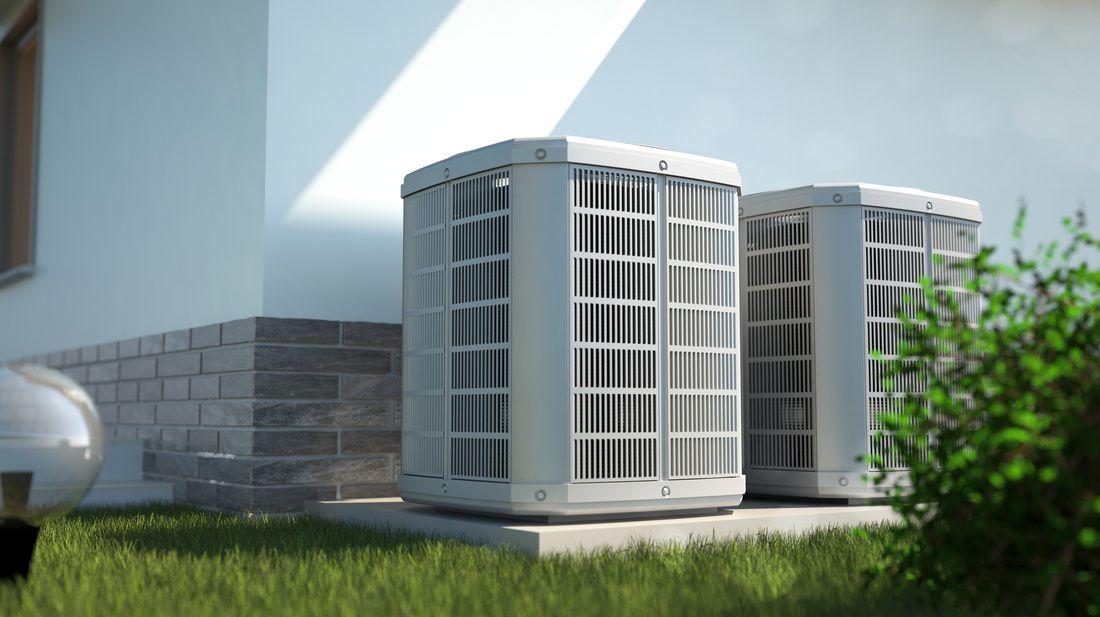 HVAC maintenance - HVAC unit outside