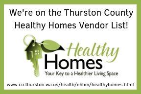 healthy homes Thurston county vendor list